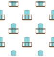 Balcony in french style pattern flat