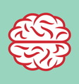 brain simple2 resize vector image