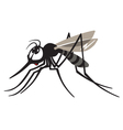 cartoon gnat vector image vector image