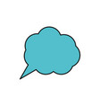 thinking cloud icon image vector image vector image