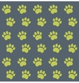 Traces of Cat Textile Pattern vector image vector image