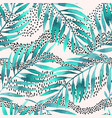 tropical for minimalist print cover fabric vector image