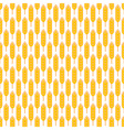 Ears of wheat pattern vector image
