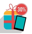 201Shopping and ecommerce vector image vector image