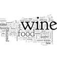 best food and wine pairings vector image vector image