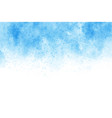 blue watercolor wash splash background vector image vector image
