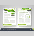 business poster template vector image vector image