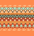 ethnic seamless pattern tribal textiles hippie vector image vector image