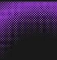 halftone circle pattern background design vector image vector image
