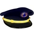 Pilots Service Cap vector image