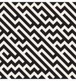 Seamless Jumble ZigZag Lines Diagonal vector image vector image