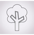 tree icon vector image