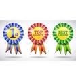 award medals vector image