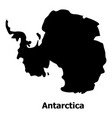 antarctica map icon simple style vector image vector image