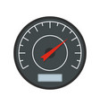 black dashboard icon flat style vector image
