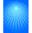 christmas star blue vector background vector image vector image