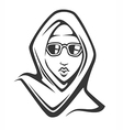 fashion arabian vector image vector image