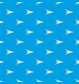 fire bellows pattern seamless blue vector image vector image