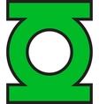 Green Lantern Logo vector image vector image