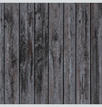 texture of dark wooden panels vector image