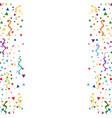 abstract background with confetti abstract vector image