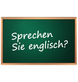 Do you speak English vector image