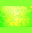 green and yellow shades glowing various tiles vector image vector image