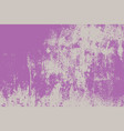grunge lilac background vector image vector image