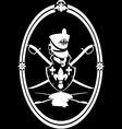 Hussar emblem vector image vector image
