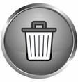 icon disposal site vector image vector image