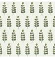 leaf and stripe vector image