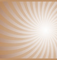 spiral background - from rotated rays vector image vector image