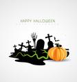 spooky halloween design vector image vector image