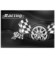 Chequered flag racing background 10 ss v vector | Price: 3 Credits (USD $3)