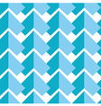 Geometric pattern in blue vector image