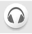 headphones icons vector image vector image
