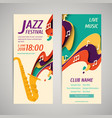 international jazz day background vector image