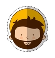 jesuschrist avatar character icon vector image vector image