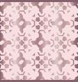 metallic rose gold geo grid pattern seamless vector image