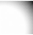 monochrome geometrical abstract halftone diagonal vector image vector image