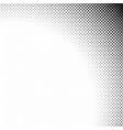 monochrome geometrical abstract halftone diagonal vector image vector image