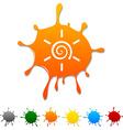 Sun blot vector image