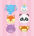 animals toy bashower card vector image vector image
