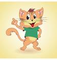 cat4 vector image vector image