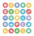 Communication Icons 6 vector image vector image