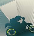 Motocross sport background