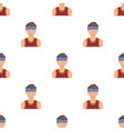 Young basketball playerbasketball pattern icon in