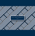 abstract blue and white diagonal stripes lines vector image vector image