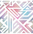 abstract bright geometric pattern vector image