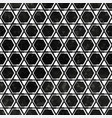 black mosaic pattern with grunge effect vector image vector image
